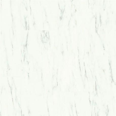 AMCL40136 Marmur Carrara biel - Quick-Step
