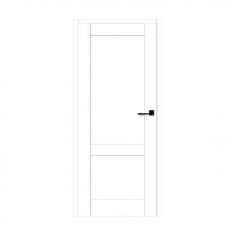 Drzwi Rumba Białe Bezprzylgowe- VOSTER